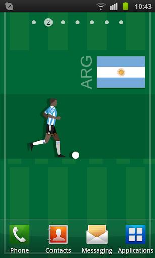 Argentina Soccer LWP