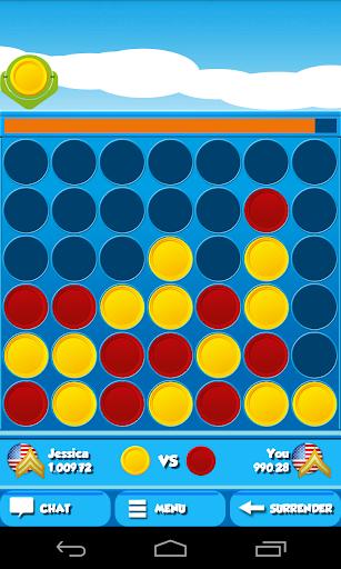 4 in a Row Screenshot
