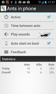 Ants in Phone - screenshot thumbnail