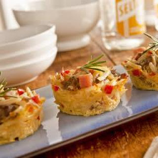 Hand Held Hashbrown Casseroles.
