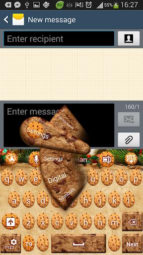 GOキーボード甘いクッキー