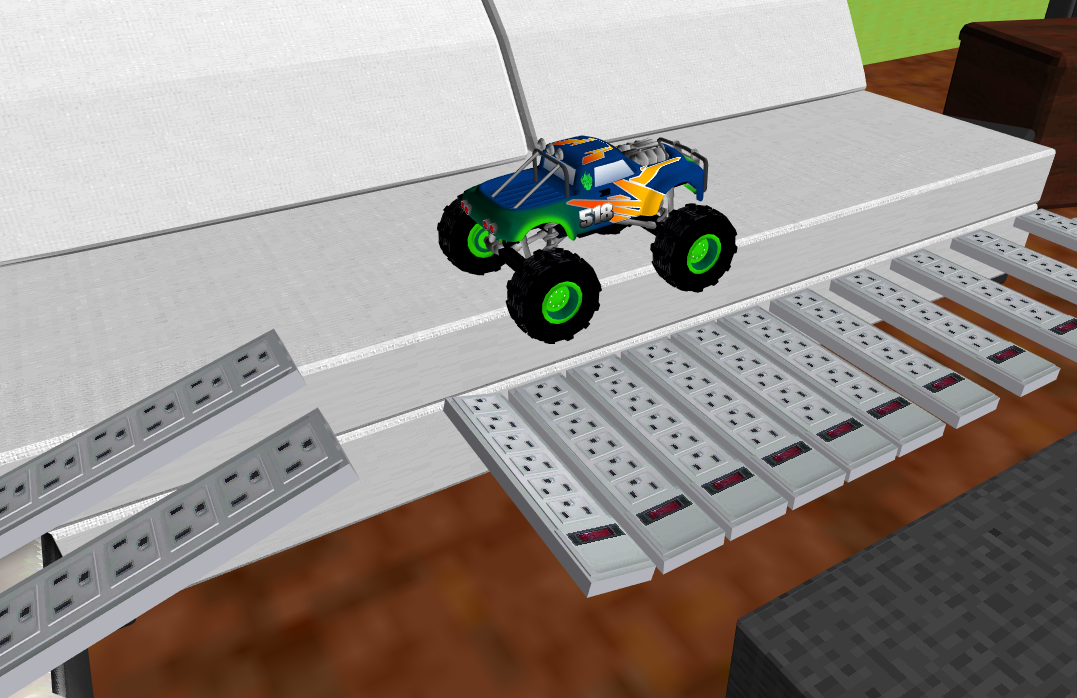 Monster Truck Racing 3D- screenshot