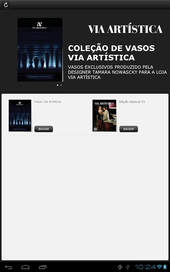 Via Artistica - screenshot