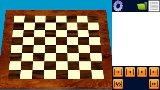 Reader Chess. 3D True. PGN