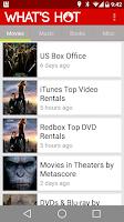 Screenshot of What's Hot: Movies,Music,Books