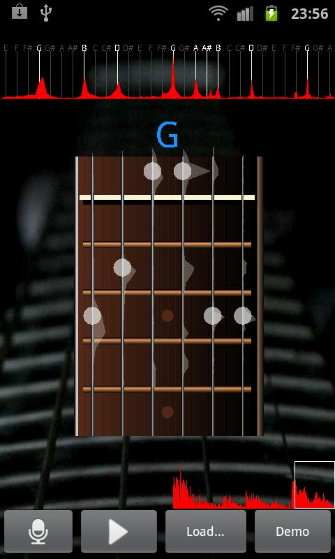 Guitar Music Analyzer Free- screenshot
