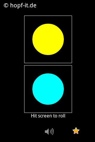 Trivial Color Dice
