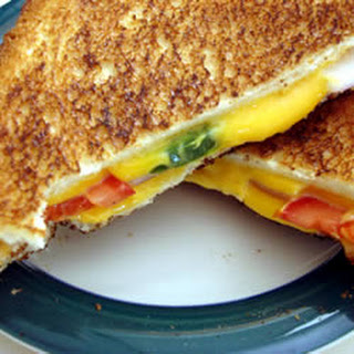 Spicy Grilled Cheese Sandwich.