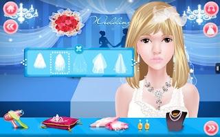 Screenshot of Wedding Make Up