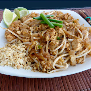 Pad Thai with Scrambled Tofu Recipe