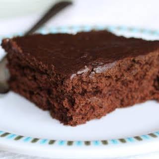 Allergen-free Chocolate Pumpkin Spice Cake.