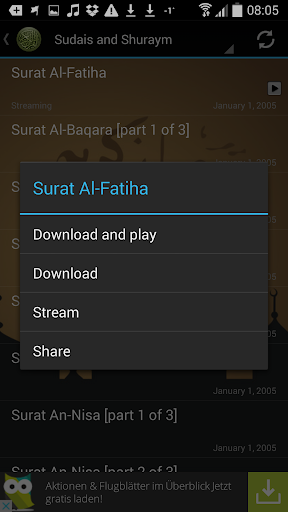 Quran Urdu Audio Translation screenshot