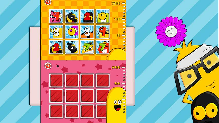 123 Kids Memory Game - Numbees - screenshot