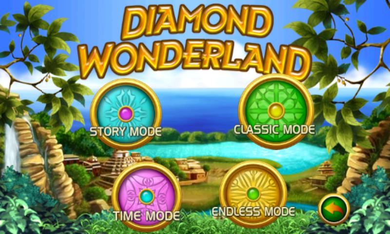 Diamond Wonderland Free - screenshot