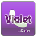 exDialer Theme - SSB Violet icon