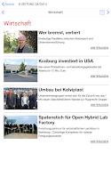 Screenshot of K-Zeitung