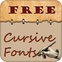 Cursive Fonts Free icon