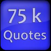 75K Quotes