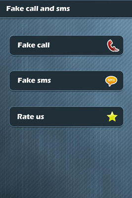Fake Call and SMS (Prank) - screenshot
