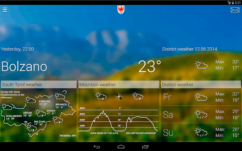 Weather South Tyrol- screenshot thumbnail
