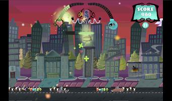 Screenshot of Attack of Ghastly Grey Matter!