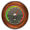 SpeeDroidMeter - SpeedoMeter icon