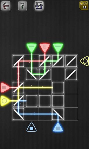 镜面 反射 拼图游戏