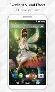 Flower Fairy Live Wallpaper