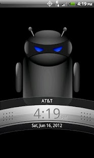 ADW Theme Droid Moonglow - screenshot thumbnail
