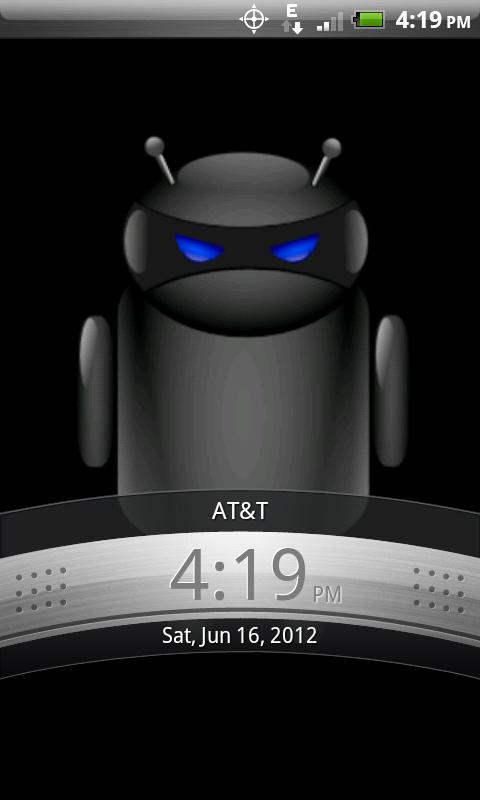 ADW Theme Droid Moonglow - screenshot