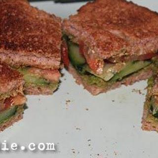 Vegetable Toast Sandwich