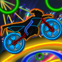 Neon Bike Ride icon