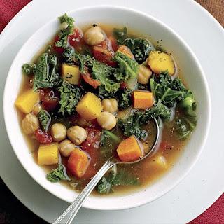 Autumn Vegetable Soup.
