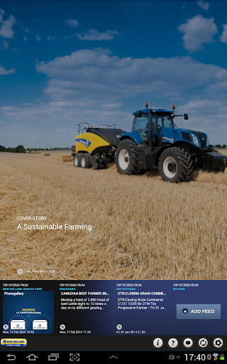 Farming news by New Holland
