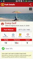 Screenshot of Good Sam Camping