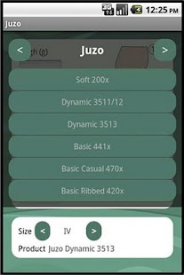 Juzo Sizing App Free - screenshot thumbnail