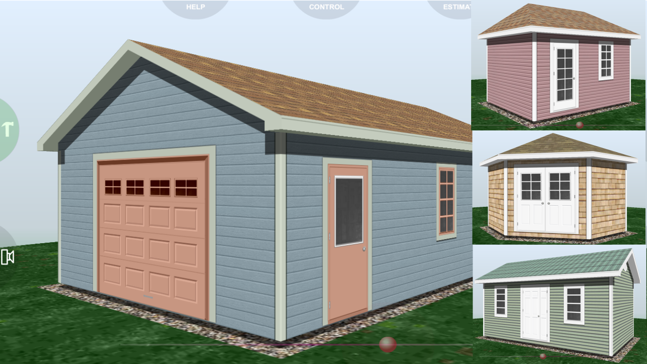 Udesignit 3D Garage Shed - screenshot