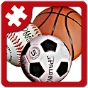 Sports puzzle: JigSaw icon