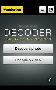 Wonderbra Decoder - screenshot thumbnail