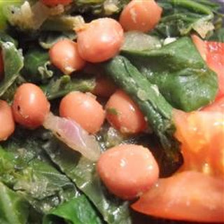 Mustard Greens 'n Beans