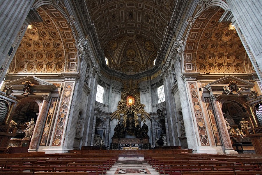 St Peter, Rome by Almas Bavcic - Buildings & Architecture Other Interior