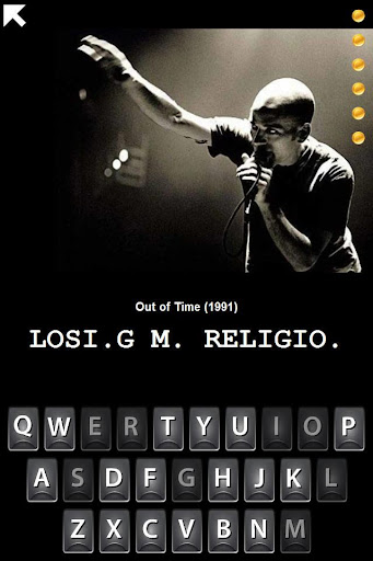 【免費音樂App】Hangman REM Band Trivia-APP點子