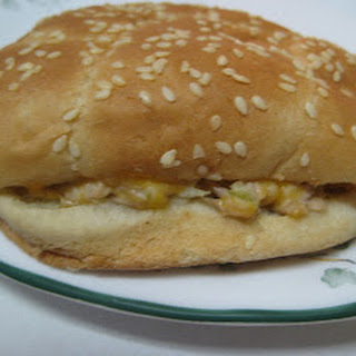 Hot Tuna and Cheddar Sandwiches.