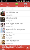 Screenshot of Kho Truyen Online