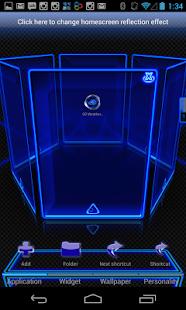 玩個人化App|Next Launcher Theme Blue Krome免費|APP試玩