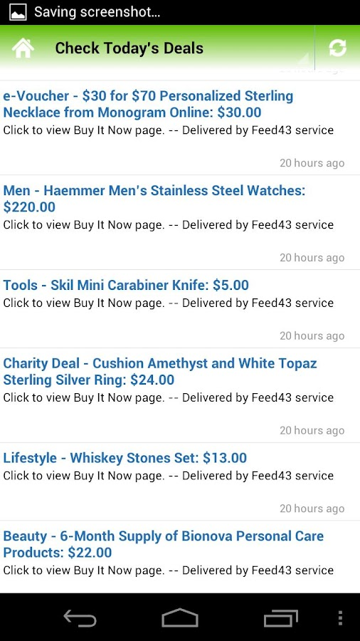 NMR Daily Deals- screenshot