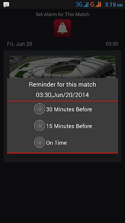 Football World Cup Live Score 1.6 screenshot 58200