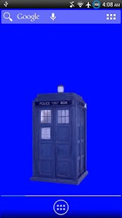 Animated TARDIS Widget - screenshot thumbnail