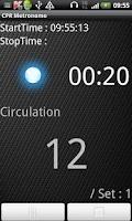 Screenshot of CPR Metronome