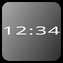 Mono Clock Widget icon
